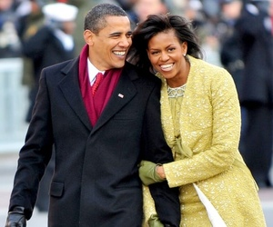 barack obama and michelle obama image