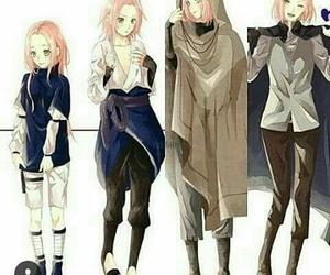 anime, naruto, and girl image