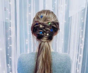 hairstyle, hair, and pony image