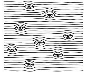 eyes, art, and wallpaper image