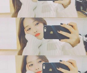 beautiful, selfie, and somin image