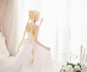 cosplay, kawaii, and sailor moon image