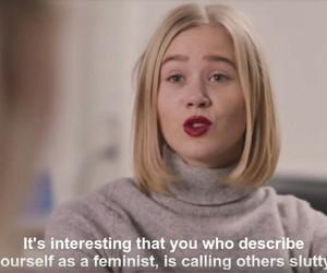 skam, noora, and feminism image
