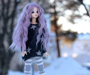 doll, bluefairy, and dolls image