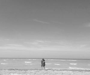 beach, couple, and boyfriend image