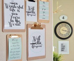 diy, decor, and home image