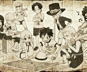 one piece, anime, and sanji image