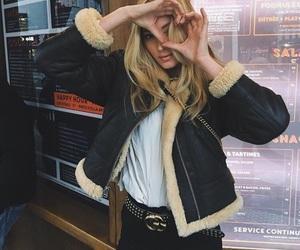 blonde, elsa hosk, and heart image