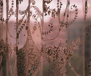 vintage, curtains, and indie image