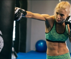 beautiful, blond hair, and boxe image