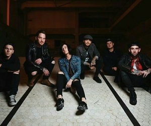 band, kellin quinn, and sleeping with sirens image