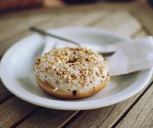 almond, doughnut, and sweet image