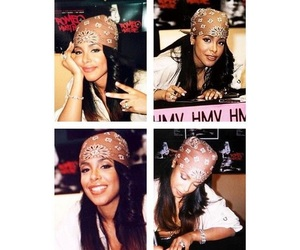 aaliyah, beauty, and Queen image