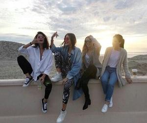 selena gomez, friends, and friendship image