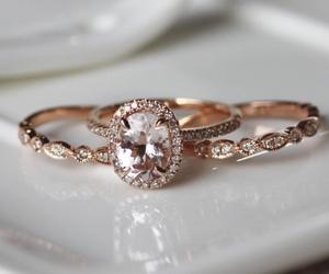beautiful, diamond, and ring image