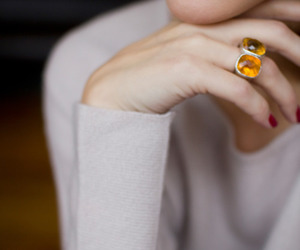 ring, olivia palermo, and jewelry image