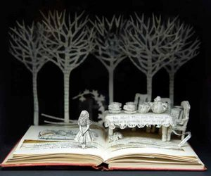 book, alice in wonderland, and art image