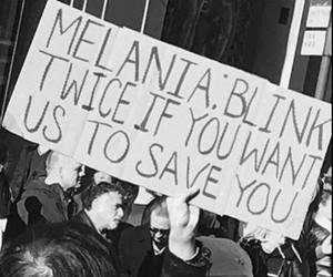america, melania trump, and blink image