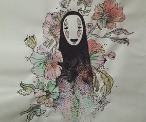 chihiro, flowers, and spirited away image