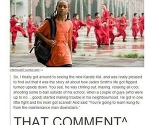 funny, karate kid, and jaden smith image