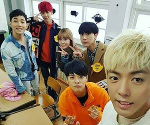 amber, henry, and Super Junior M image