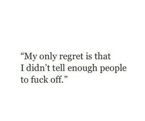 people, regret, and fake friends image