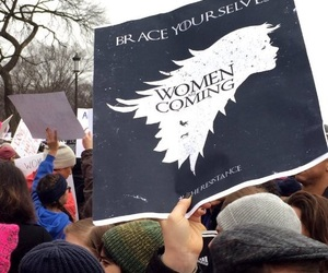 girl power, game of thrones, and feminism image