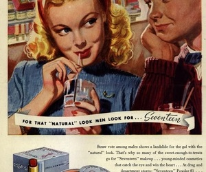 Seventeen, vintage, and 50s image