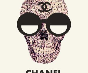 chanel, dead, and skull image
