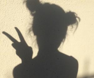 shadow, tumblr, and grunge image
