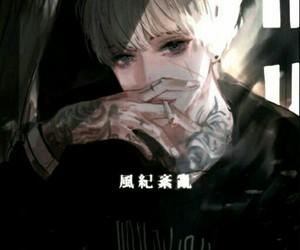 aesthetics, tattoo, and aesthetic anime image