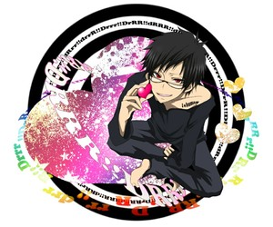 anime, durarara!!, and izaya orihara image