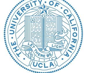 california girl, pauley pavilion, and ucla university seal image