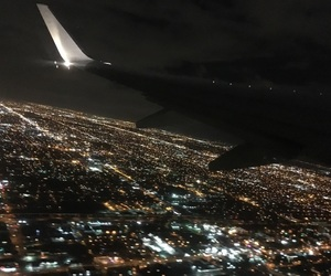 airplanes, beautiful, and night image