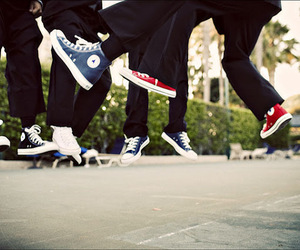 converse, jump, and shoes image