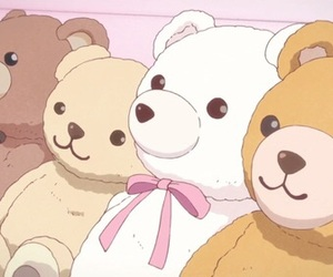 bear, anime, and aesthetic image