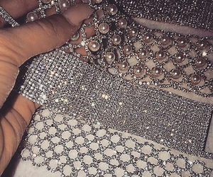 diamond, choker, and luxury image