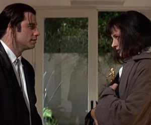 pulp fiction, movie, and John Travolta image