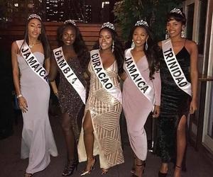 art, beauty queens, and melanin image