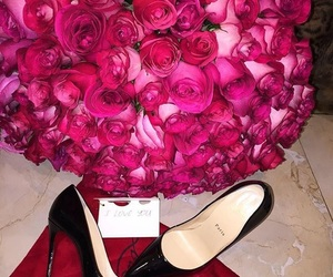 flowers and heels image