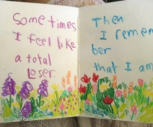 loser, flowers, and quotes image