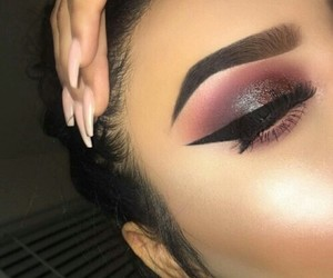 beauty, Chick, and makeup image
