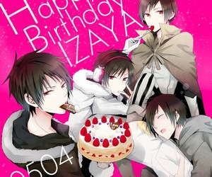 anime, durarara!!, and izaya+orihara image