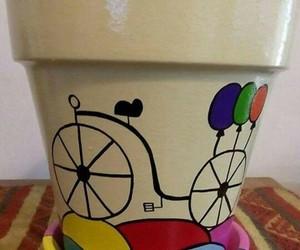 bike, garden, and jardín image