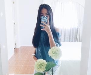 asian, beautiful, and cute girl image