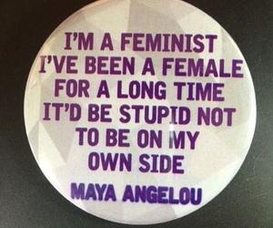 feminism and maya angelou image