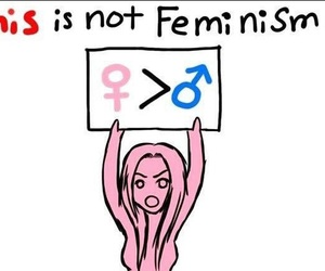 equal rights, feminism, and girl power image