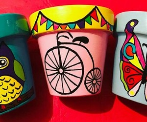 bicicleta, bike, and garden image