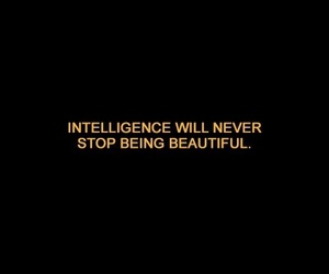 intelligence, quotes, and black image