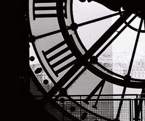black and white, etsy, and paris photography image